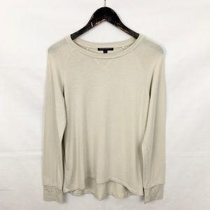 Brandy Melville Cream Beige Lightweight Sweater